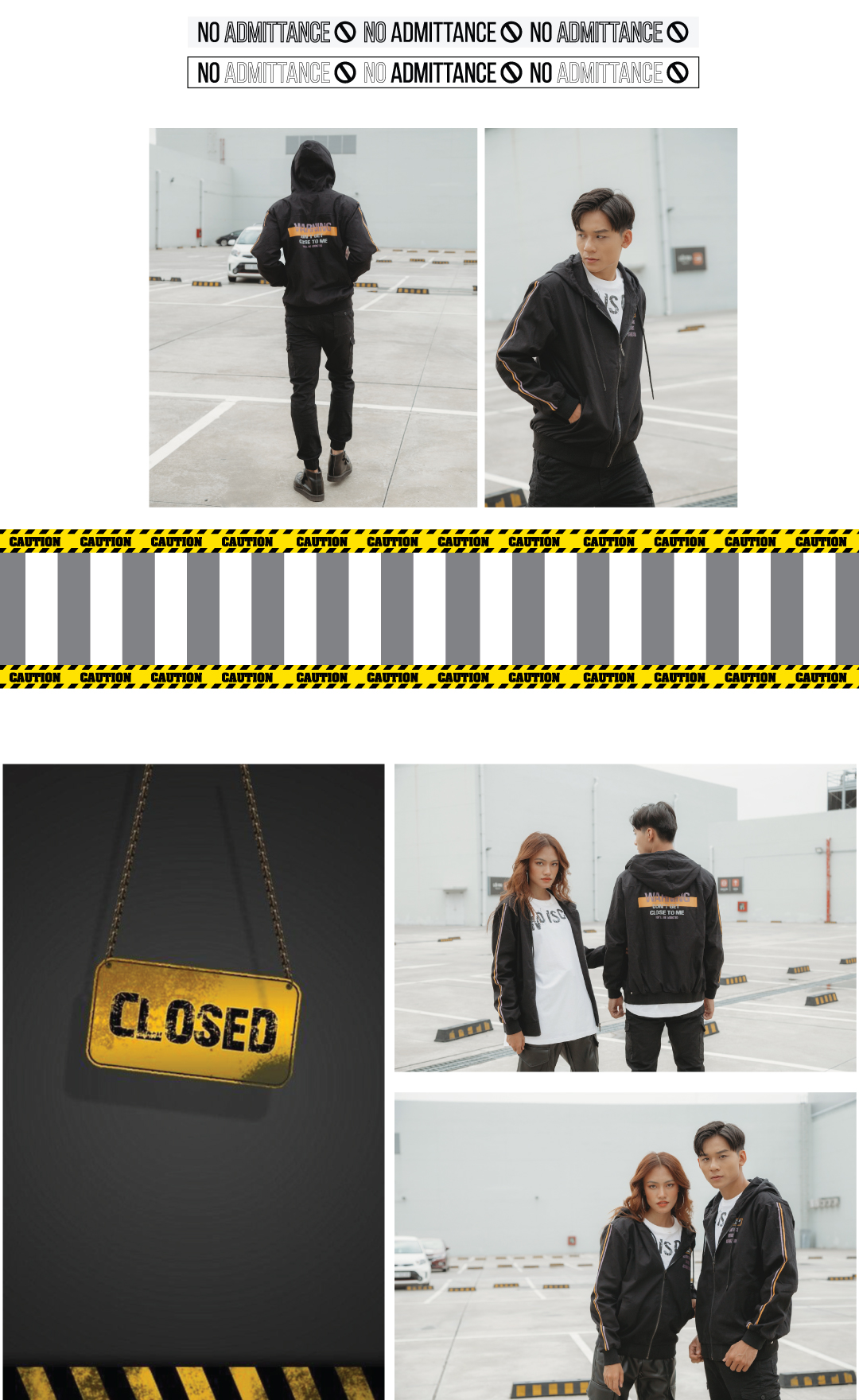 WARNING - NEW COLLECTION