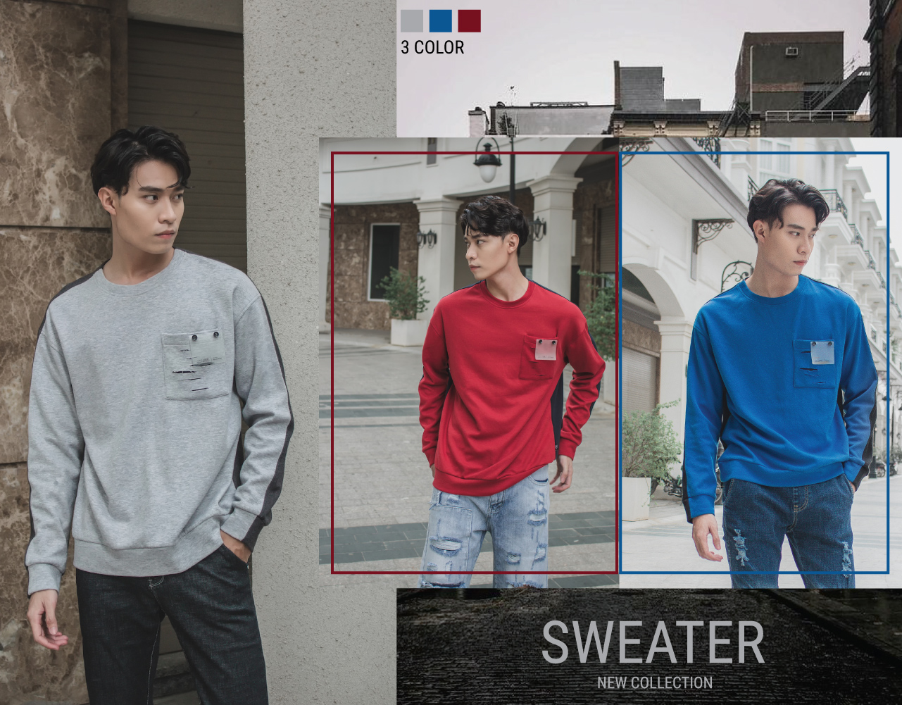 SIMPLE OUTFITS - SWEATER