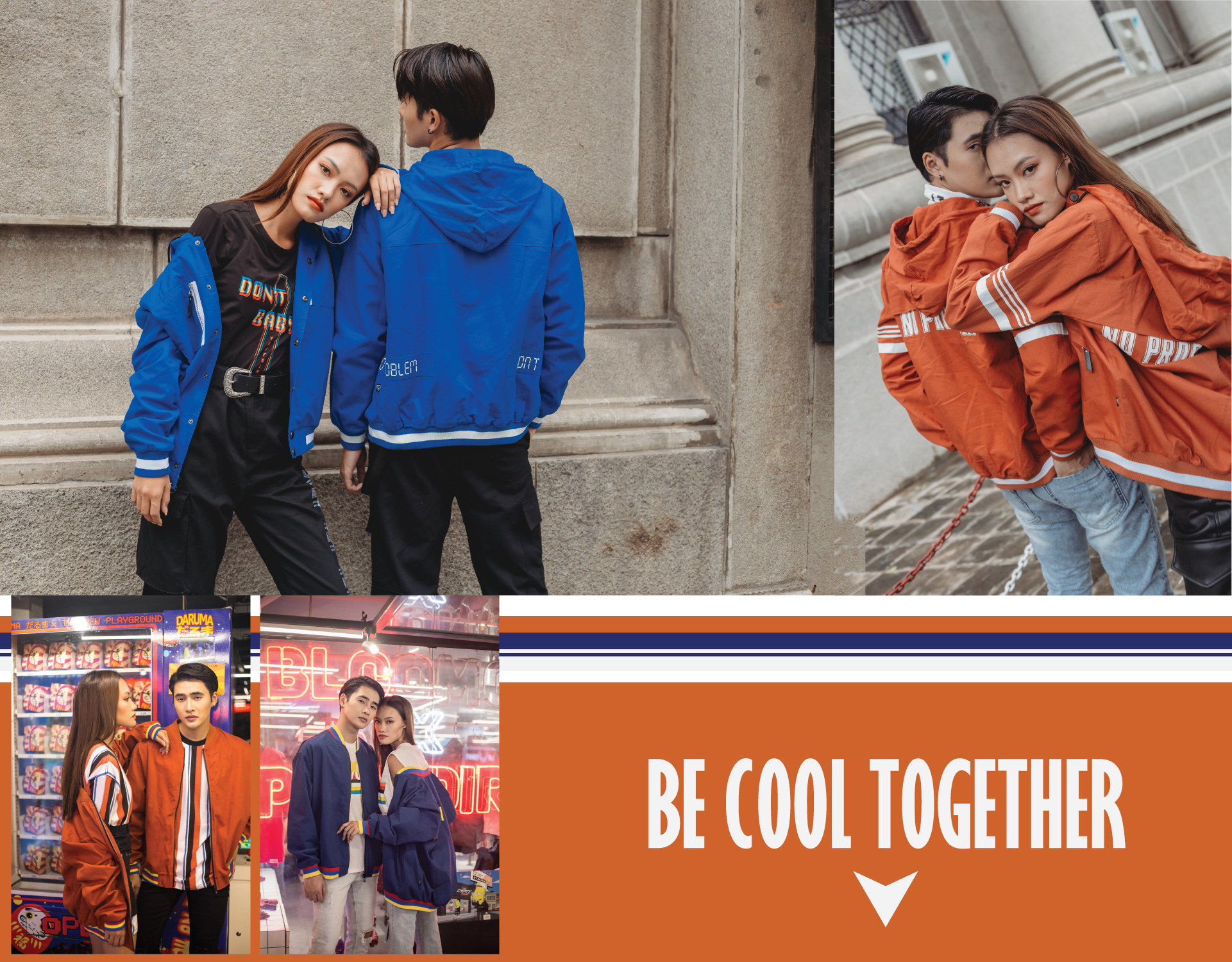 BE COOL TOGETHER